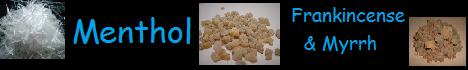 menthol frankincense myrrh