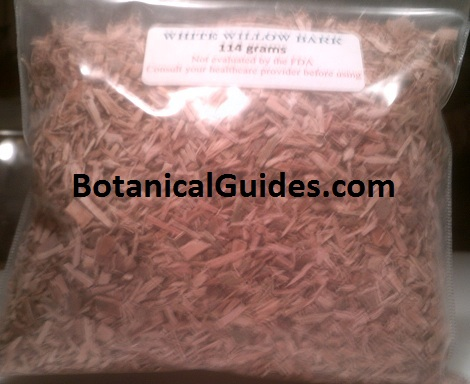 white willow bark quarter pound